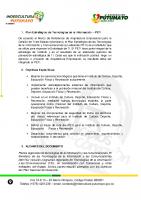 PLAN ESTRATEGICO DE TECNOLOGIA DE LA INFORMACION PETI