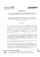 RESOLUCION LIQUIDACION CONVENIO SAN FRANCISCO