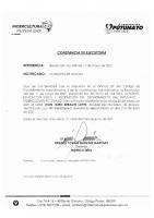 CONSTANCIA DE EJECUTORIA MOCOA