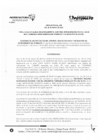 CONVENIO INDERCULTURA MUNICIPIO DE COLON